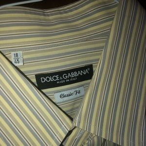Dolce & Gabbana Men's Button up